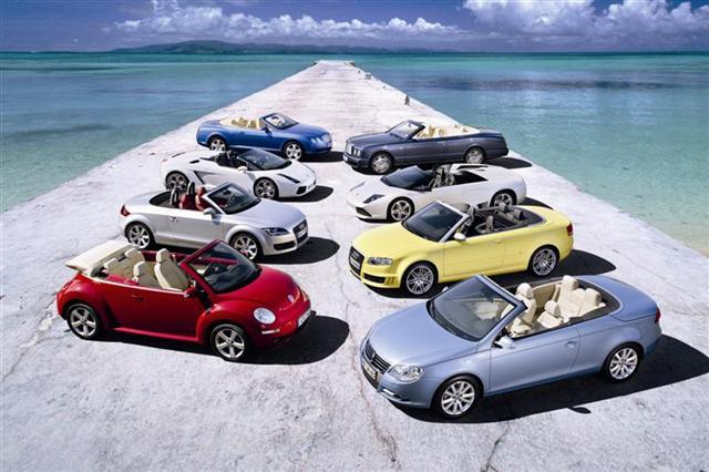 Photo de Cabrios dans le groupe VW