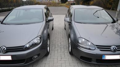 Photo of Comparaison extérieur Golf V et VI