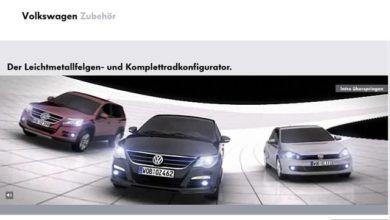 Photo of Configurateur pour jantes VW