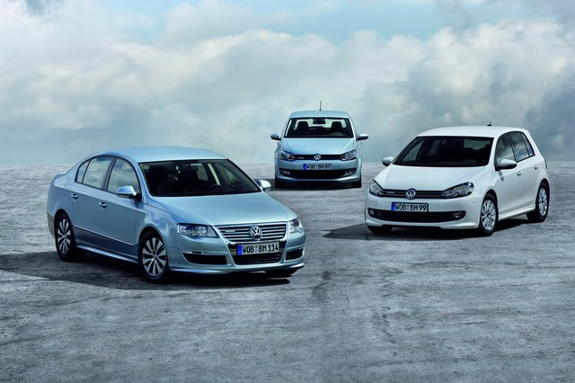 Photo de Bluemotion : Polo, Golf, Passat 2010