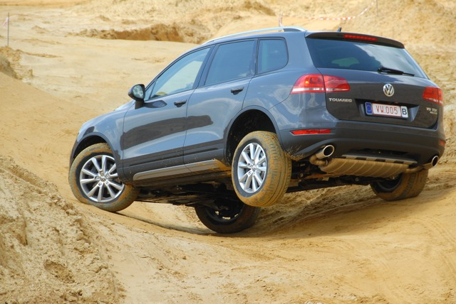 Photo de Touareg : SUV mais vrai 4×4
