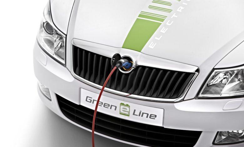 Photo de L'électromobilité avec l'Octavia Green E Line