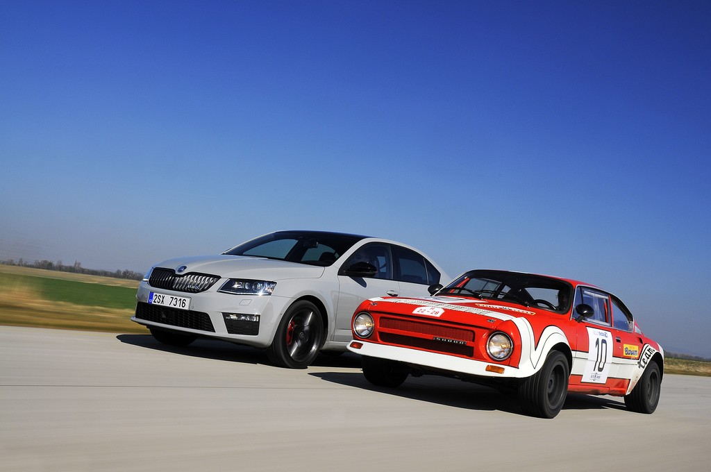 140527 ŠKODA RS - 40 years of the cult of speed (1)