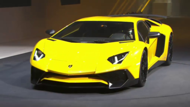 Photo of Video : Présentation de la Lamborghini Aventador LP750 – 4SV