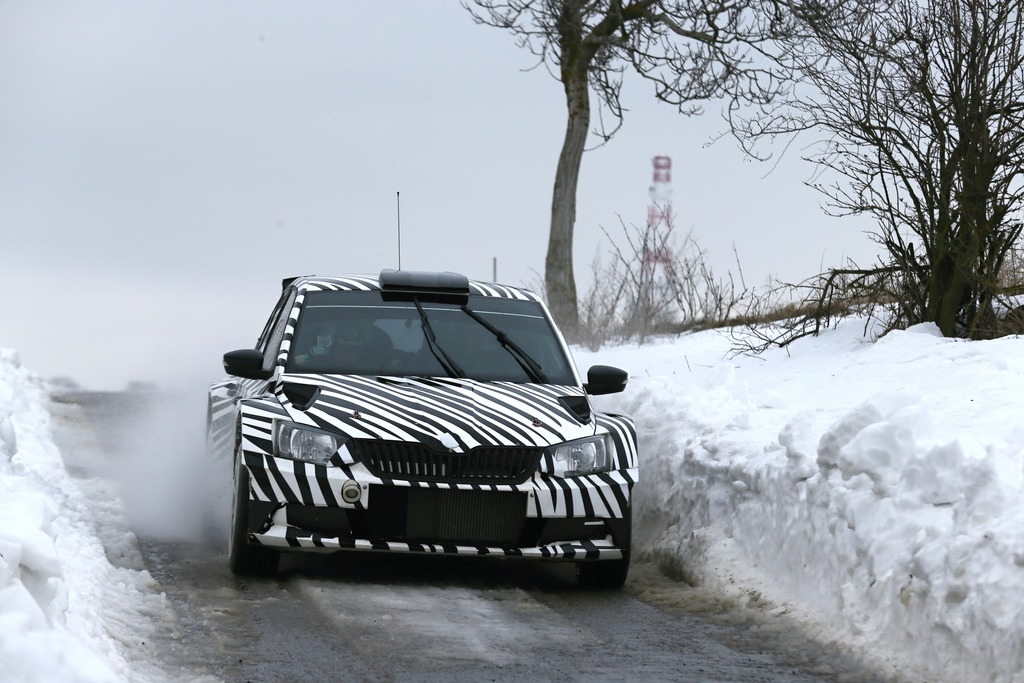The new ŠKODA Fabia R 5