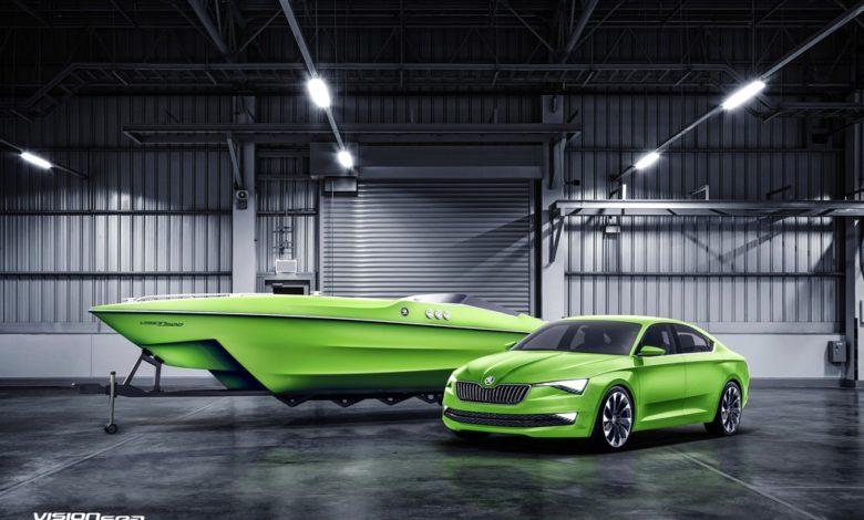 Photo de Vision Sea : Skoda lance son premier modèle de yacht sportif
