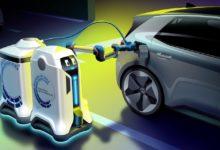 Photo de Volkswagen entend révolutionner les parkings souterrains avec ses robots de recharge