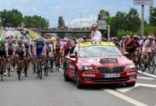 Photo de ŠKODA AUTO partenaire officiel du Tour de France pour la 17ème fois consécutive